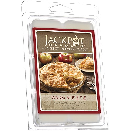 Warm Apple Pie Necklace Wax Tart Melts (Surprise Necklace Valued at $15 to $5,000) (Pie Candle Tarts)