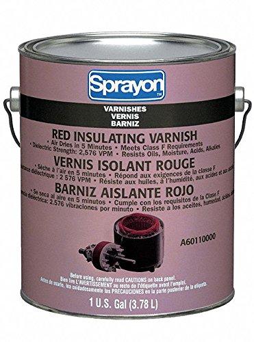 Insulating Varnish, Red, 1 gal