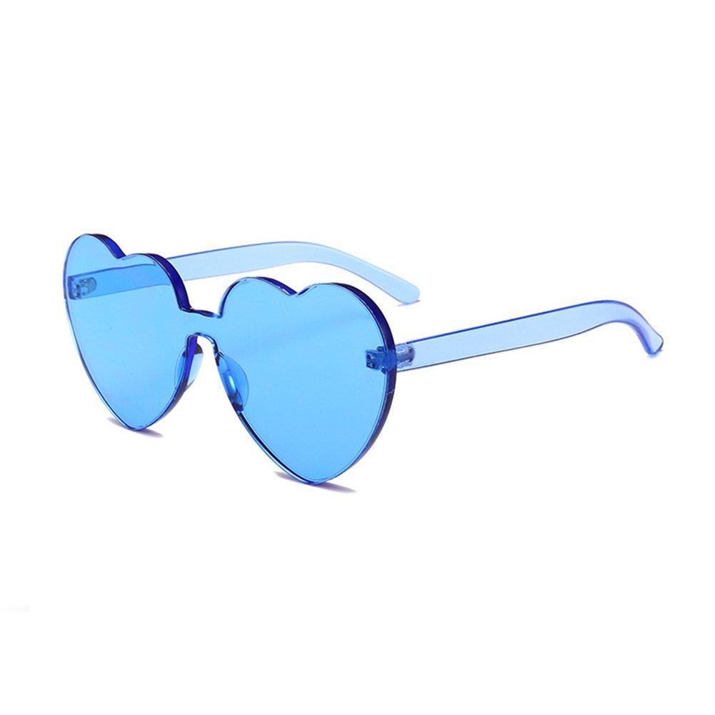 Le signore europee e americane amano gli occhiali da sole e gli occhiali da sole a forma di cuore Occhiali da sole a forma di cuore ( Color : I ) pU7EUti