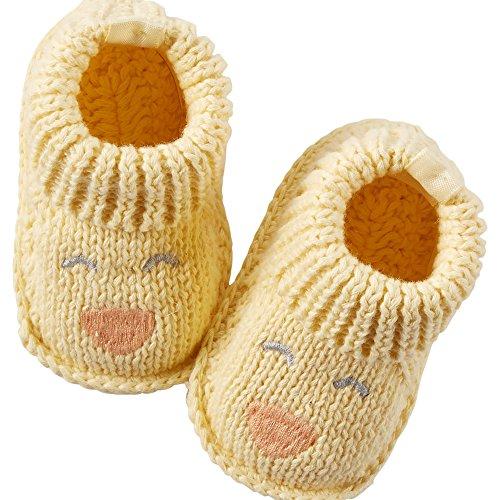 Carters Newborn Booties Shoes Yellow