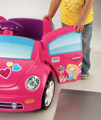 Fisher-Price Power Wheels Barbie Volkswagen Beetle Toy Car