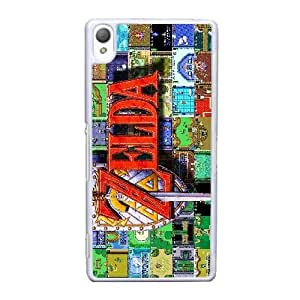 Sony Xperia Z3 Cell Phone Case White The Legend Of Zelda AS7YD3633660