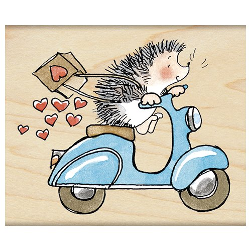 - Penny Black 4299J Wood Mounted Rubber Stamp, Sweet Ride