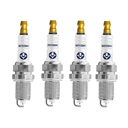 Brisk - Silver lr14ys 1353 bujías de Encendido benzin lpg ...