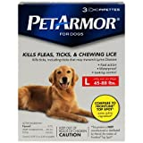 PetArmor for Dogs 3pk Large 45-88lbs