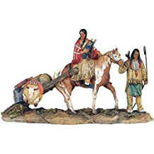 StealStreet SS-G-11392 Native American Family Collectible Indian Figurine Sculpture Statue
