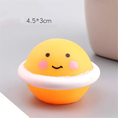 sara-u Cute Furits Shape Antistress Ball Squeeze BiBi Sound Mini Bath Toy: Home & Kitchen