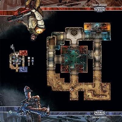 Fantasy Flight Games Star Wars Ia Skirmish Maps Coruscant Landfill - English from Fantasy Flight Games