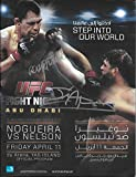 ufc fight programs - Antonio Rodrigo Nogueira Jim Alers Signed UFC Fight Night 39 Program COA - PSA/DNA Certified - Autographed UFC Miscellaneous Products