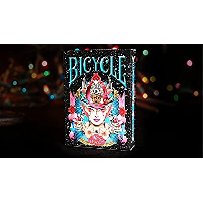 BICYCLE MAD WORLD PLAYING CARDS BY COLLECTABLE PLAYING CARDS (ONE DECK): Toys & Games