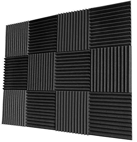 Acoustic Panels Studio Foam Sound Proof Panels Nosie Dampening Foam