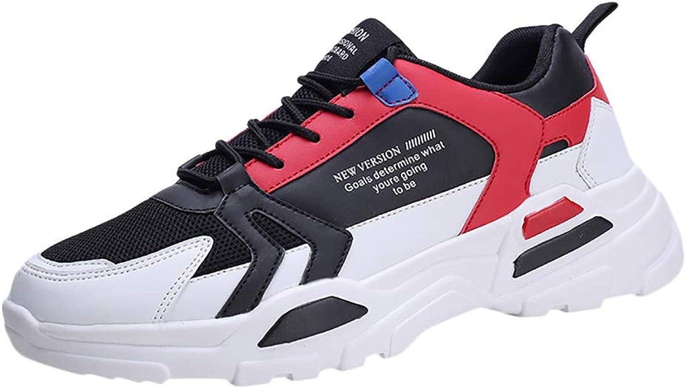 Elecenty Casual Zapatillas de Estudiante Antideslizante Gimnasio Running Zapatos de Cordones para Hombre Sneakers Calzado Deportivo Moda Zapatos: Amazon.es: Zapatos y complementos