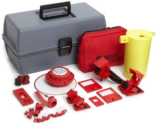 Brady Electrical Lockout Toolbox Kit, Padlocks and Tags Not Included by Brady by Brady (Image #1)