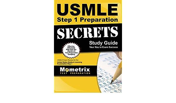 USMLE Step 1 Preparation Secrets Study Guide: USMLE Exam Review for