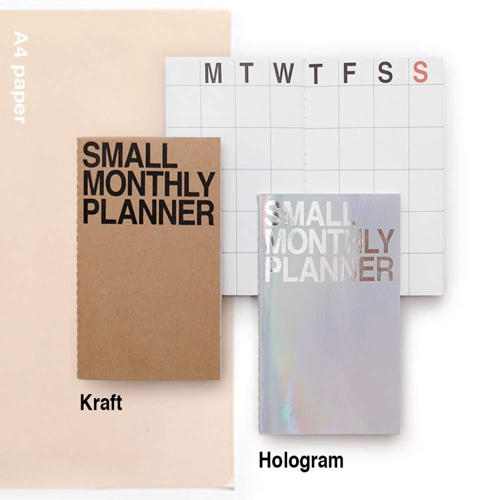Amazon.com: JSTORY - Planificador mensual pequeño, 2 ...
