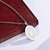 FaithHeart Virgin Mary Medal Pendant