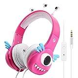 Kids Headphones, VCOM Robots Design Adjustable Over Ear Stereo Lightweight Headsets, Children Safe Boys Girls Music Gaming Earphones with Volume Limiting for PC iPad iPhone Smartphones Tablet -Green