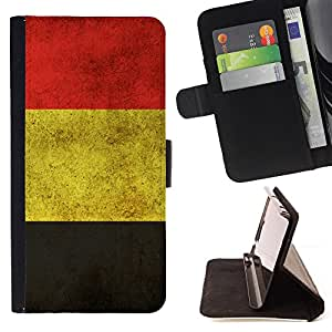 /Skull Market/ - GERMANY GERMAN GRUNGE FLAG For Samsung ALPHA G850 - Caja de la carpeta del tir???¡¯???€????€?????????&Atil