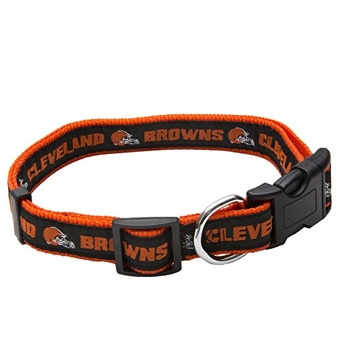 Pets First NFL Cleveland Browns Pet Collar, Large