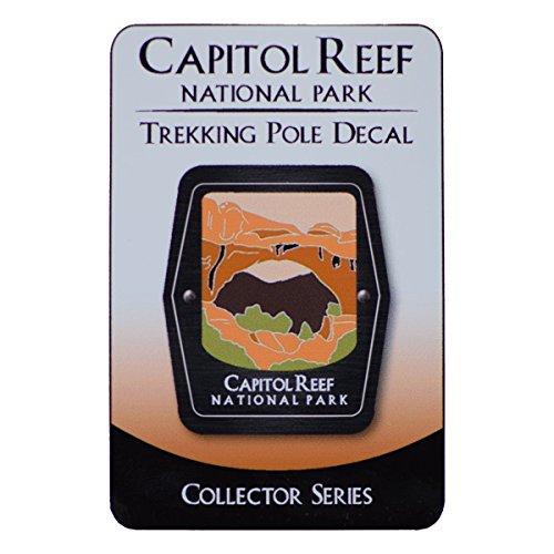 Capitol Reef National Park Trekking Pole Decal   Hickman Natural Bridge  Utah