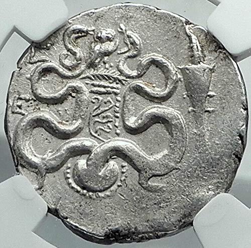 - 102 GR EPHESOS in IONIA 102BC AR Greek Cistophorus Tetra Silver Cistophoric Tetradrachm (Cistopho XF NGC