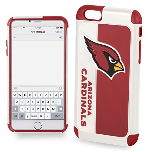 Forever Collectibles Dual Hybrid BOLD Series Case for iPhone 6/6S - NFL Arizona Cardinals