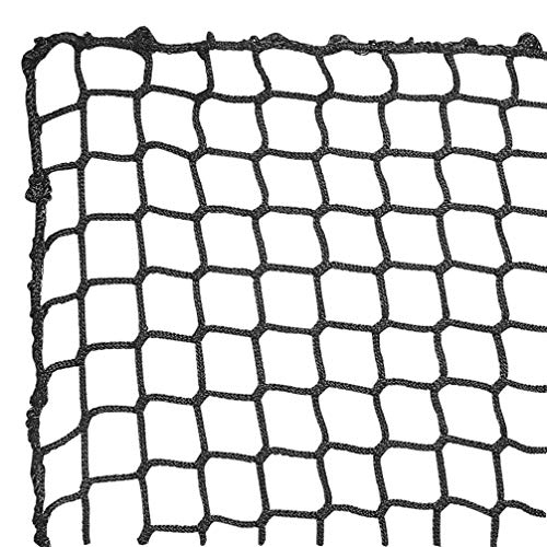 Aoneky Polyester Baseball Backstop Nets, 10x15ft Sports Practice Barrier Net, Heavey Duty Hitting Containment Netting, Baseball High Impact Net