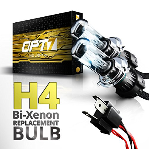 All Bulb Sizes and Colors OPT7 Bullet-R 9006 HID Kit 10000K Deep Blue Xenon Light 4X Longer Life 3X Brighter 2 Yr Warranty