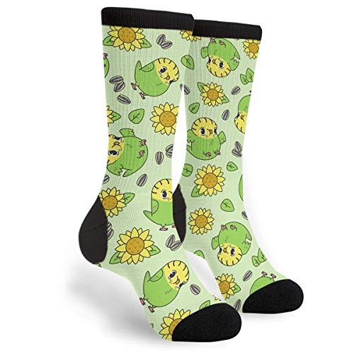 Bowling Code Ball - Unisex Fun Novelty Crazy Crew Socks Sunflower Budgies Socks Dress Socks One size Casual Travel Athletic sock