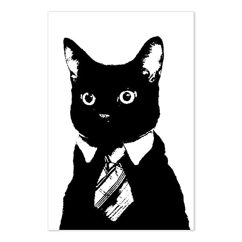 56c41bdf Image Unavailable. Image not available for. Color: Funny Boss Gift Business  Cat ...