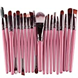 #10: Clearance Deals Makeup Brush Set,ZYooh 2018 Professional Fashion 20pcs Make up Brushes Kits Cosmetic tools Kit Valentine Gift (G)