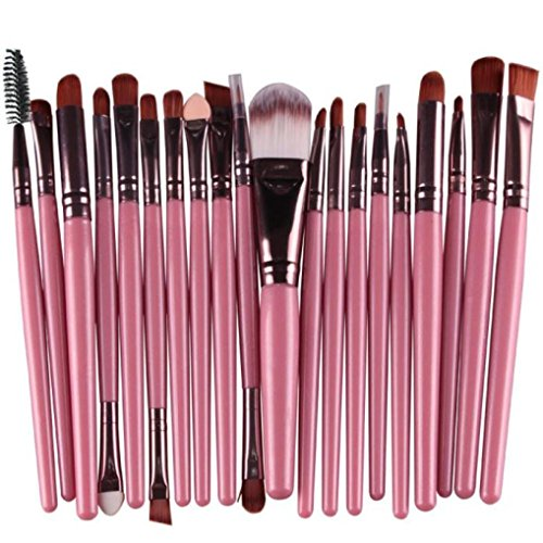Clearance Deals Makeup Brush Set,ZYooh 2018 Professional Fashion 20pcs Make up Brushes Kits Cosmetic tools Kit Valentine Gift (G)