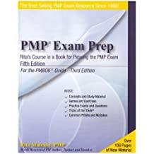 PMP Exam Prep, Fifth Edition: Rita's Course in a Book for Passing the PMP Exam 5th edition by Rita Mulcahy (2005) Paperback