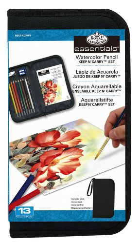 Royal & Langnickel Watercolor Pencil Essentials Keep N