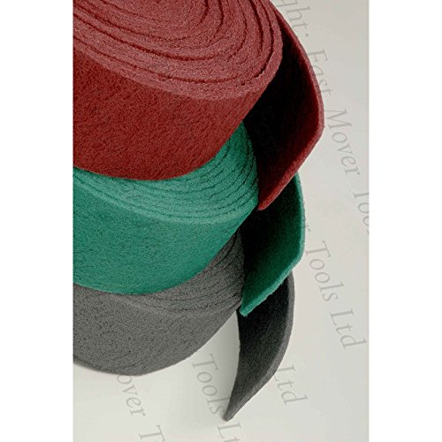 Fast Mover Tools, Abrasive Roll, Green, 115mm x 10Mtr Roll