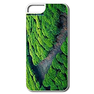 Funny Green Tea Field IPhone 5/5s Case For Him