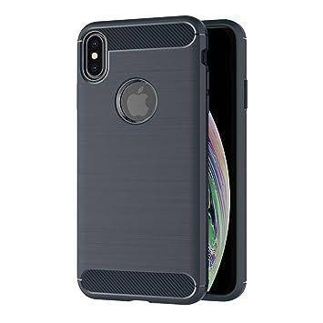 coque iphone xs max fibre carbone