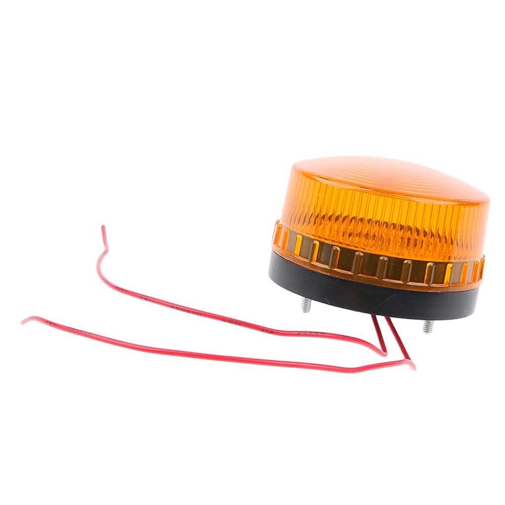 Warning Strobe Beacon Alarm Light Signal Tower Lamp Water Proof DC24V LED