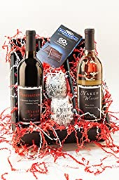 Heart Throb Kit Wine Gift Set, 2 x 750 mL