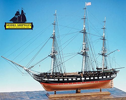 Model Shipways USS Constitution 48'' Long Wood KIt MS2040 1:76 Scale ON SALE - Model Expo