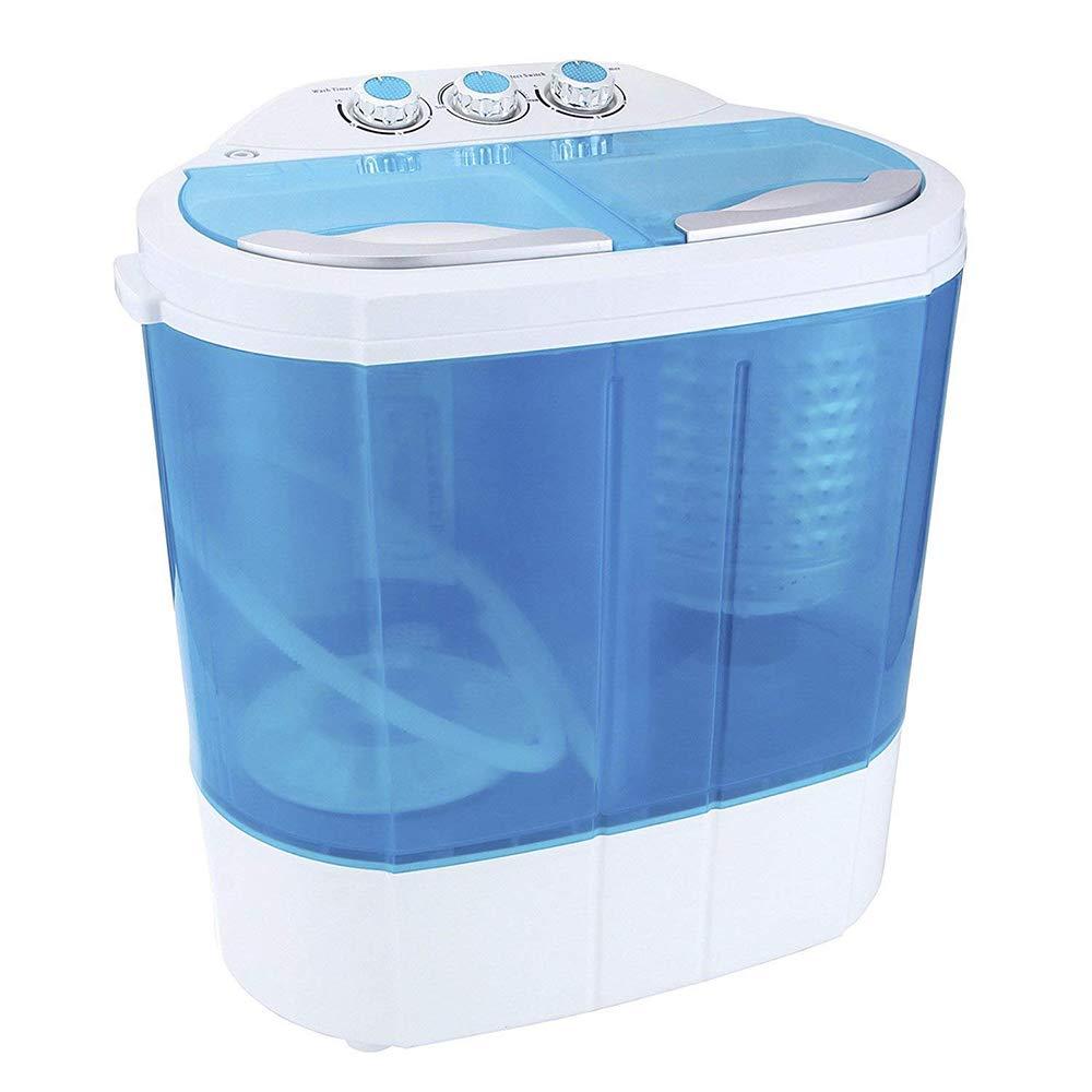 Display4top 3, 6 KG Waschmaschine Mini Waschmaschine (Lila) D4P