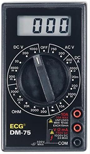 ECONOMICAL DIGITAL MULTIMETER 3-1//2 DIGIT LCD DISPLAY