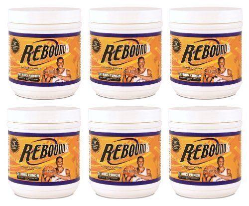 360g Canisters Rebound FX Citrus Punch Youngevity Sports Endurance Drink (Ships Worldwide) by Youngevity
