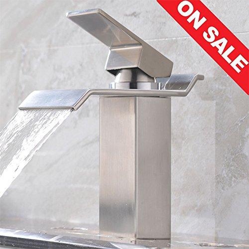 bathroom faucet nickel - 4