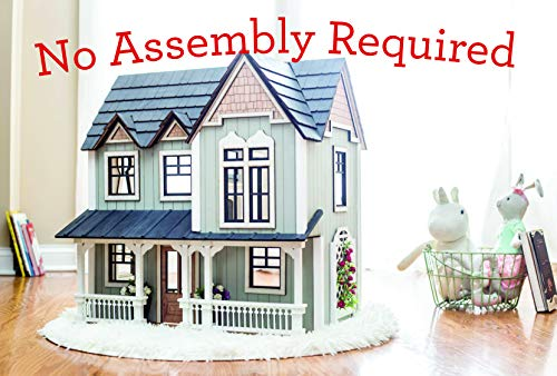Fully Assembled Dollhouse and Companion Storybook