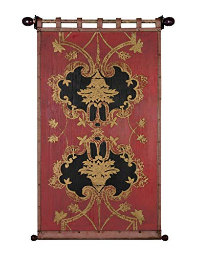- Tapestry Fine Art Tapestries Tuscan Villa Wall Handmade Gold Foil in Antiqued 113cm×155cm/44.5