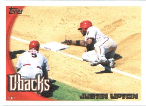 Topps 2010 Baseball Card#145 Justin Upton Arizona Diamondbacks menthe-vers l'État.