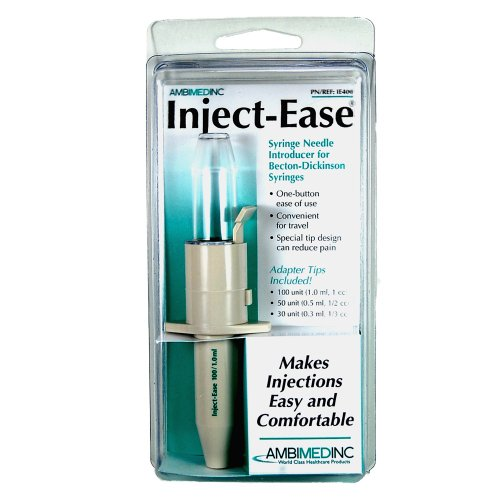 Ambimed Inject-Ease - Syringe Needle Introducer to Help Make Injections Easy - Diabetic Aid