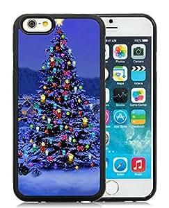 diy phone casePersonalized Customized iPhone 6 Case,Christmas Tree Black iPhone 6 4.7 Inch TPU Case 29diy phone case