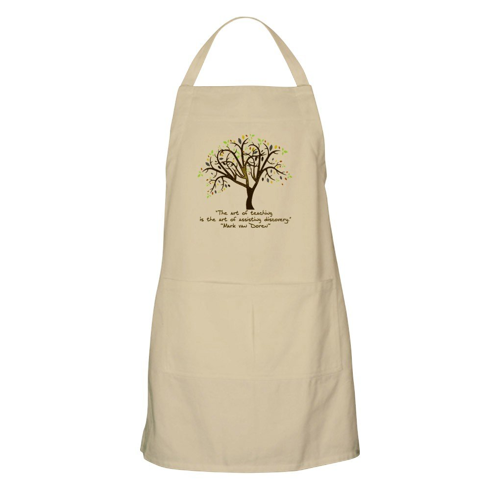 CafePress - The Art Of Teaching Apron - Kitchen Apron with Pockets, Grilling Apron, Baking Apron